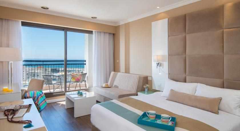חדר נוף לים מלון לאונרדו אשקלון