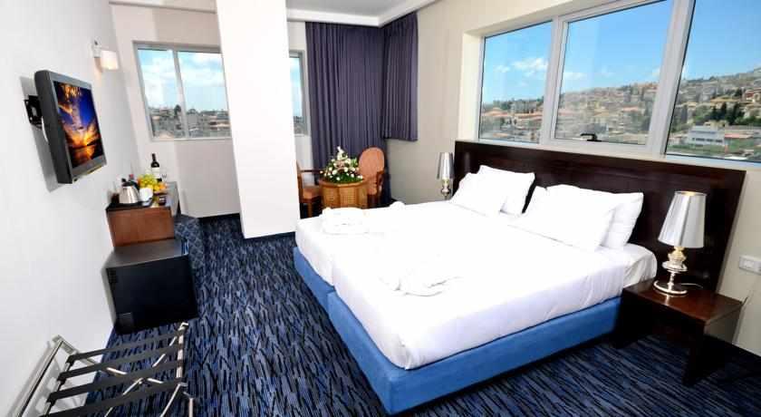 חדרים זוגיים מלון גולדן קראון נצרת
