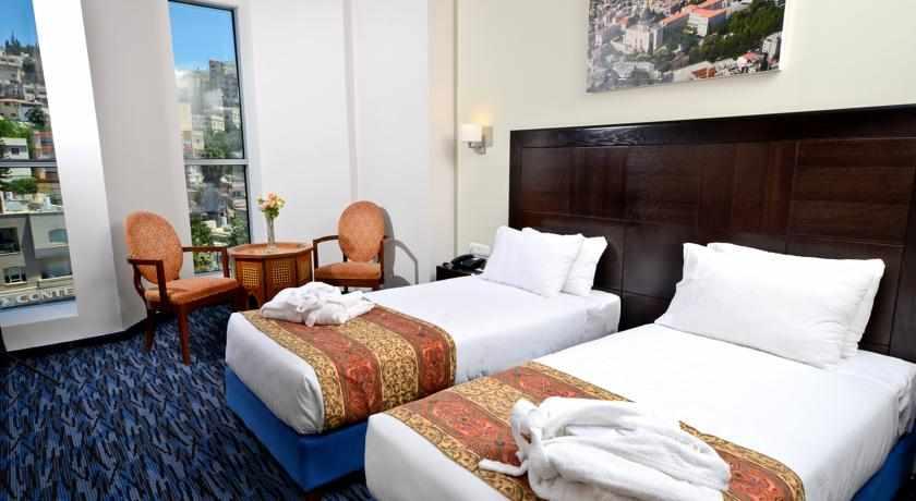 מיטות נפרדות מלון גולדן קראון נצרת