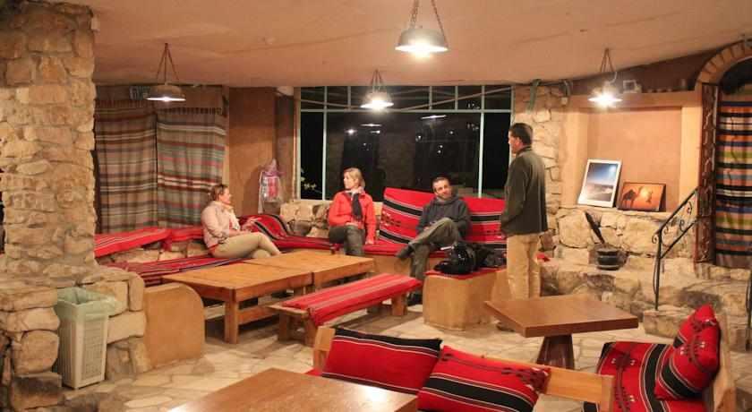 אורחים בחוות צל מדבר מצפה רמון